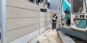 Noise Barrier Wall - Etobicoke